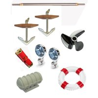 Zubehör für Schiffsmodelle