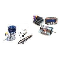 RC-Car: Motoren, Regler, Ersatzteile & Zubehör