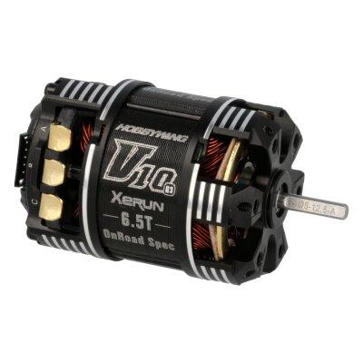 Xerun V10 Brushless Motor G3 6300kV (1s) 6.5T Sensored für 1