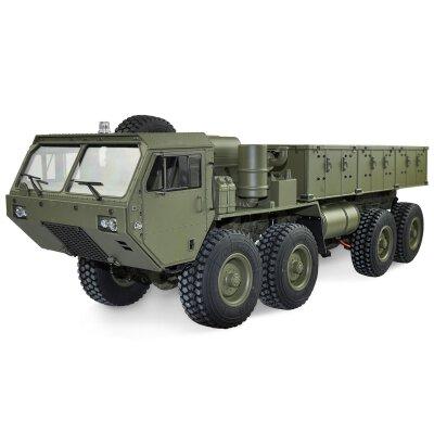 U.S. Militär Truck 8x8 1:12 mit Ladefläche military grün