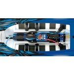 TRAXXAS SPARTAN blau-X ohne Akku/Lader BL-Renn-Boot...