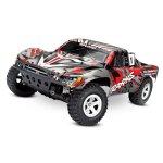 TRAXXAS Slash rot-X RTR ohne Akku/Lader 1/10 2WD Short...