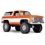 TRAXXAS TRX-4 Chevy Blazer 4x4 orange RTR o. Akku/Lader