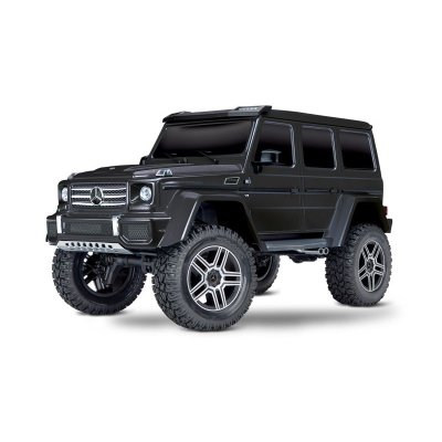 TRAXXAS TRX-4 Mercedes G 4x4² schwarz RTR ohne Akku/Lader 1/10 4WD Scale-Crawler Brushed