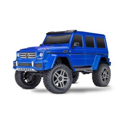 TRAXXAS TRX-4 Mercedes G 4x4² blau RTR ohne Akku/Lader