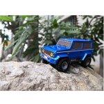 Karosserie AM24 Mini-J blau metallic 1:24