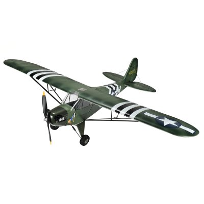 Piper J3 1400mm brushless PNP Military grün