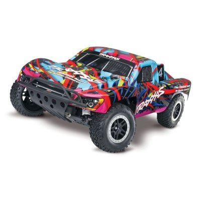 TRAXXAS Nitro-Slash RTR 1/10 2.4GHz Hawaian Edition Short Course Racing Verbrenner-Truck 2WD (Link-fähig)