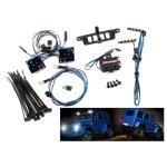 LED Licht-Set kpl ohne Power-Supply  f. #8811 oder#8825 Karo