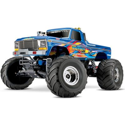 TRAXXAS BIGFOOT No1 BLUEX RTR +12V-Lader+Akku 1/10 2WD Monster Truck Brushed