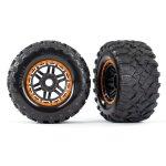 Reifen auf Felge montiert Felge schwarz/orange Maxx All-Terr