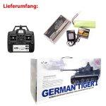German Tiger I 2.4GHz-Edition RC ferngesteuerter 1/16...