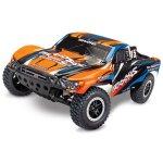 TRAXXAS Slash orangeX RTR +12V-Lader+Akku 1/10 2WD Short...