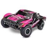 TRAXXAS Slash pinkX RTR +12V-Lader+Akku 1/10 2WD Short...