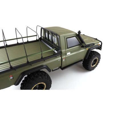 AMXRock RCX8PS Scale Crawler Pick-Up 1:8, RTR Militär grün