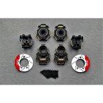 SAMIX TRX4 rear hub carrier &rear housing &knuckle cover