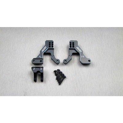 SAMIX TRX-4 alum. black front shock plate
