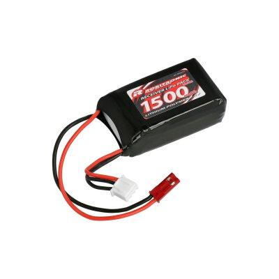 LiPo Akku 1500mAh 2S AAA Hump Size Empfängerpack (EH)