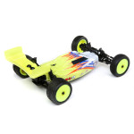 Losi Mini-B, Brushed, RTR: 1/16 2WD Buggy, Yellow/White