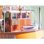 Krabbenkutter Sirius aus Dorum, Baukasten