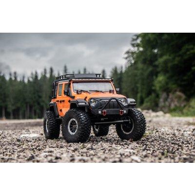 "Absima 1:10 Green Power Elektro Modellauto RC Crawler ""SHERPA CR3.4"" ORANGE 4WD RTR"