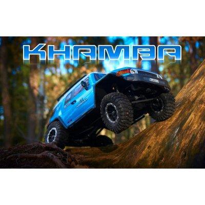 "Absima 1:10 Green Power Elektro Modellauto RC Crawler ""KHAMBA CR3.4"" BLAU 4WD RTR"