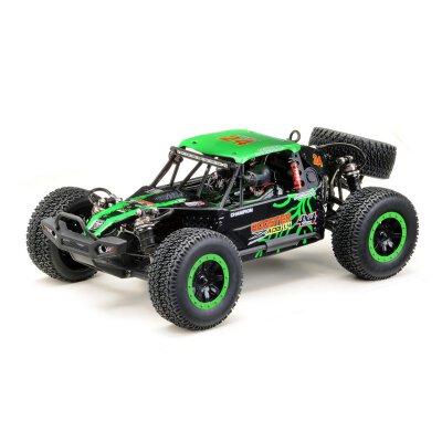 "1:10 Green Power Elektro Modellauto Desert Buggy ""ADB1.4"" GRÜN 4WD RTR Waterproof"
