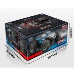 "Absima 1:16 Green Power Elektro Modellauto High Speed Monster Truck ""SPIRIT"" schwarz/rot 4WD RTR"