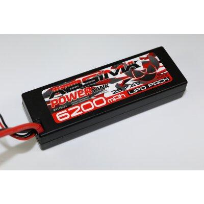 Power Tank LiPo Stick Pack 7.4V-60C6200 Hardcase (T-Plug)