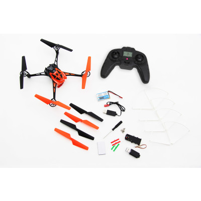 Rocket 250 3D - 4 Kanal RTF Quadrocopter orange mit Kamera