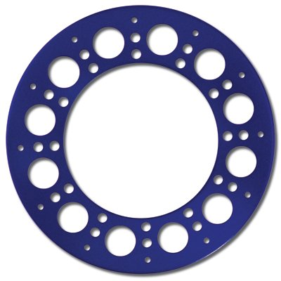 Holey Rollers Beadlock Ring (Blau) (2Stk.)