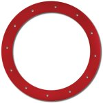 Axial Bead Lock Rings (Rot) (2Stk.)