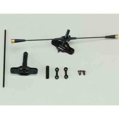 Stabilizer Flybar, Rotor Head and Main Shaft Set: Chronos CX