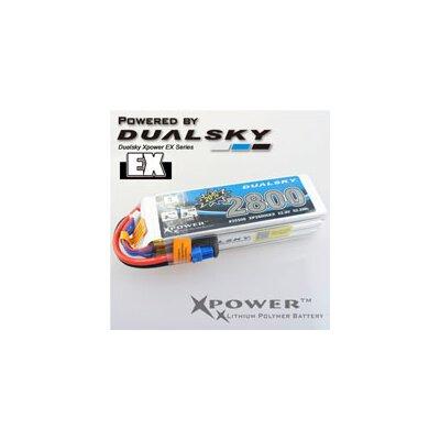Lipo Akku XP28005EX 2800 5S1P 30C