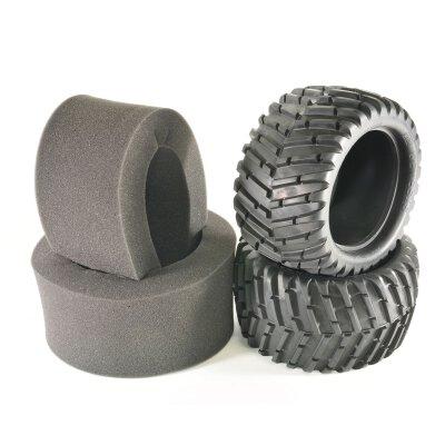 Reifen V-Profil mit Einlagen (2 Stk.)