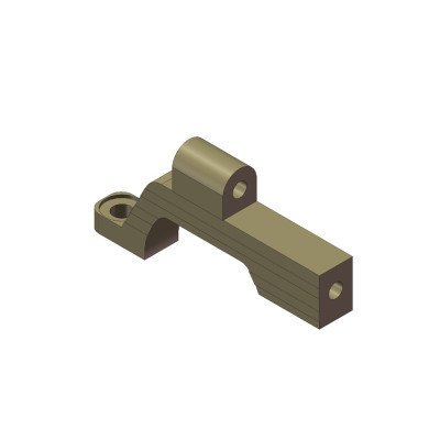 Hinterer oberer Getriebekasten Aluminium links