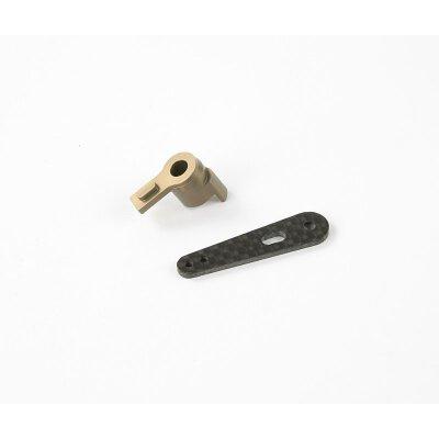 Aluminium Bremsarm Halterung & Karbon Arm