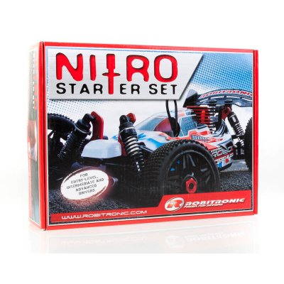 Robitronic Nitro Starter Kit mit Glühkerzenstarter 2000mAh