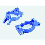 050005 C-Hub Aluminium blau 2 Stück