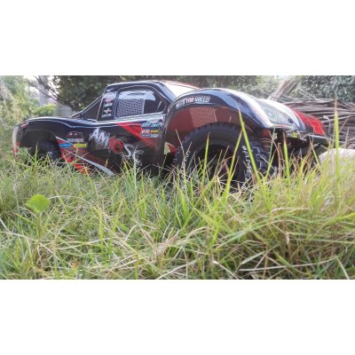 AM10SC V2 RED Short Course Truck 4WD 1:10 Brushless