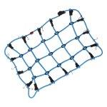 Gepäcknetz mit Haken Blau (190mm x 120mm)