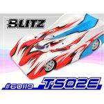 BLITZ TS02E 200mm (Stärke0,8 mm) für 1/10 Breit...