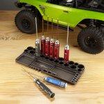 Werkzeugstand mit Löthilfe und Messlehre