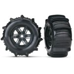 Paddle-Reifen auf Felge X-Maxx schwarz (2)