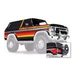 Traxxas Karo Ford Bronco schwarz (lackiert inkl. Anbauteile)