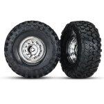 Reifen auf Felge 1.9 chrome, Canyon Trail 1.9 Reifen, Center